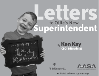 Letters to Ollie's New Superintendent